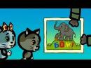 Мультики для малышей - Три котенка - Оглянёшься, а вокруг целая страна (3 сезон | се...