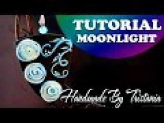 💙Pendant Moonlight: Polymer clay tutorial💙Мастер-класс:КулонЛунный Свет из полимерной глины💙DIY