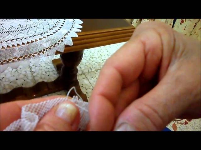 Needle lace from vakifli village