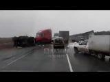 Ужасная авария на трассе Казань