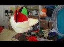 Как я делаю голову ростовой кукле Лиса и в конце видео смотрите костюм готов