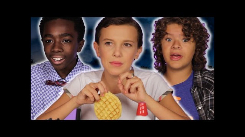 The Cast Of Stranger Things Reveal Set Secrets (While Decorating Waffles)