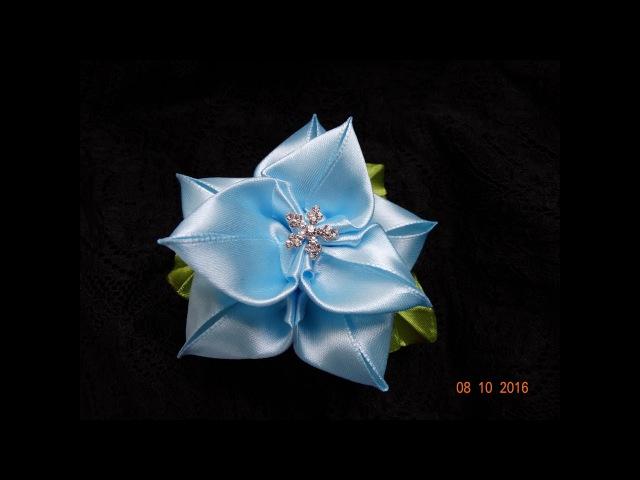 Зимний Лотос КанзашиНовый лепесток КанзашиWinter Lotus