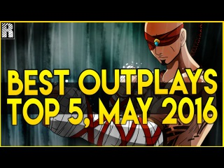 ® Top 5 Outplays | May 2016 (League of Legends)