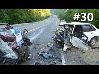 Подборка самых жестоких, страшных аварий и ДТП часто со смертельным исходом 2012-2016 год 18+ #30