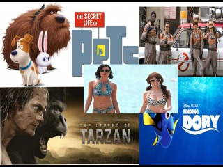 Top 5 movies 2016 | Hollywood Box Office from July 15 to July 17, 2016