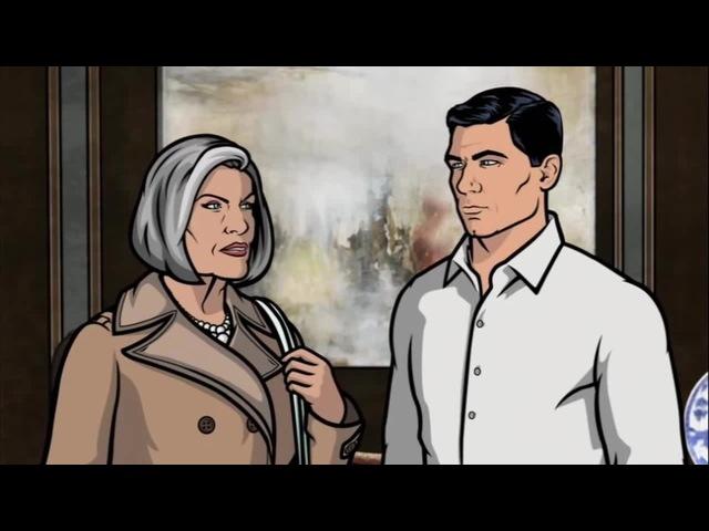 Спецагент Арчер (Приколы) - Мать подье...ала coub