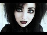 My Everyday Goth Makeup Tutorial