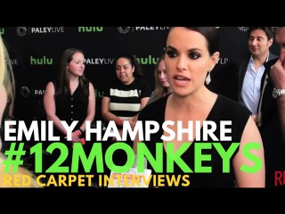Emily Hampshire interviewed at the PaleyLive LA: An Evening with 12 Monkeys S2 Event PaleyCenter