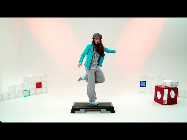 Step Aerobic Vol 1 Die 2 Stufe mit Andrea Bodor