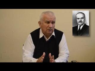 2016.10.30 — Интервью Зазнобина В.М. о развале Союза и будущем глобальной цивили