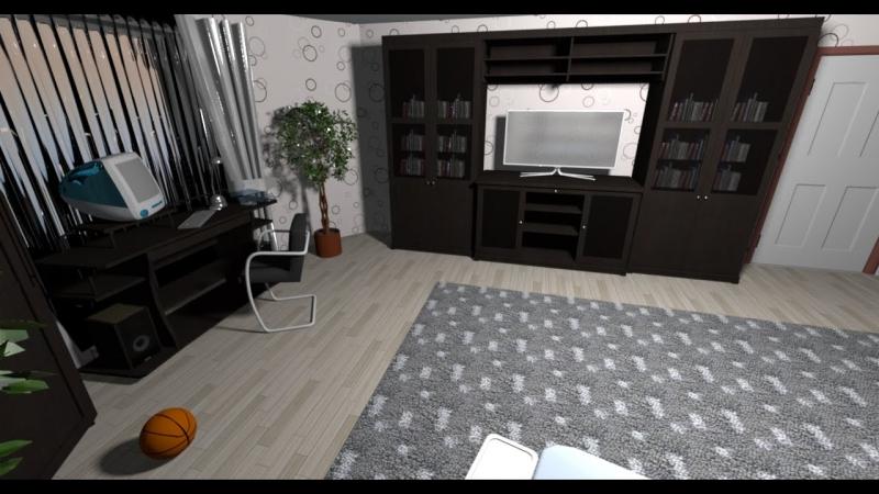 Дизайн красивой спальной комнаты. - Ep.4 - Интерьеры от Unfiny - Уроки по Sweet Home 3d