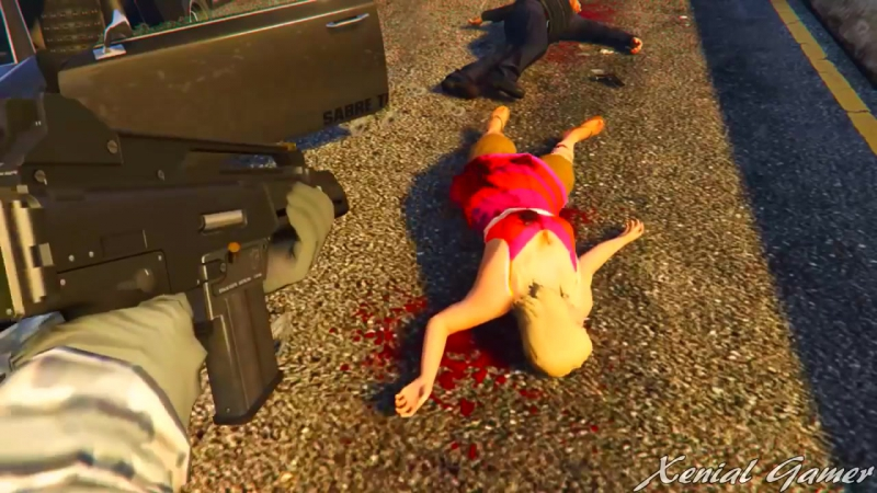 GTA 5 Funny-Brutal Kill Compilation @24_HD