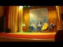 Танец с шалями Зареченский Д К на фестивале Русская зима2016