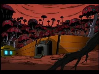 Мутанты черепашки ниндзя. Новые приключения! (2 сезон 2 серия) - Черепашки в космосе (2 часть). Заварушка с трицератонами