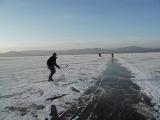 На льду Тургояка
