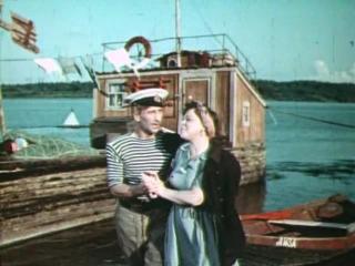 МЕДОВЫЙ МЕСЯЦ (1956) - мелодрама,, комедия. Надежда Кошеверова