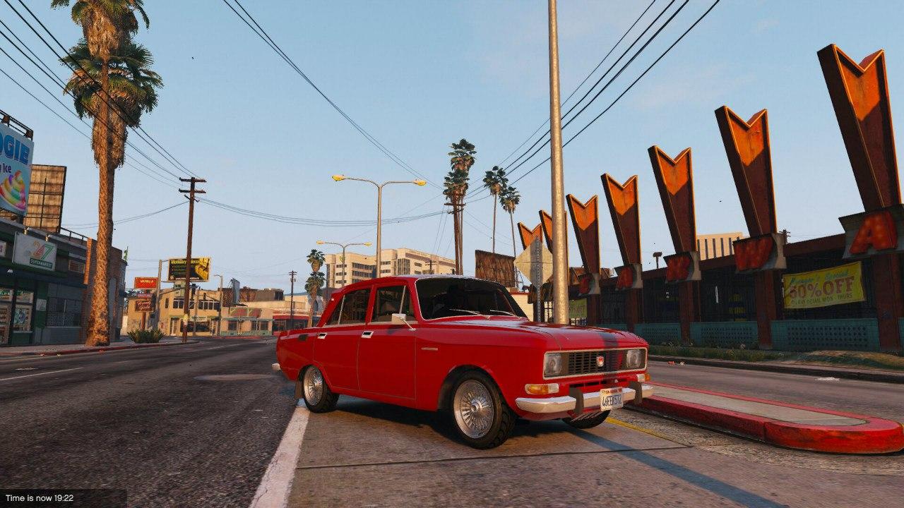 Москвич 2140 для GTA V - Скриншот 1