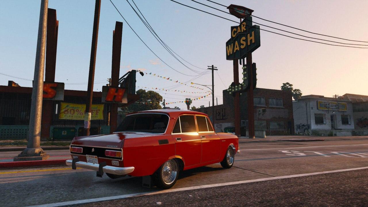 Москвич 2140 для GTA V - Скриншот 2