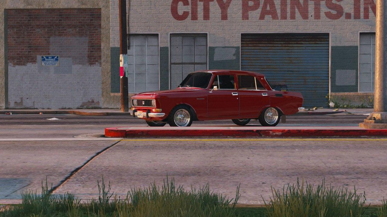 Москвич 2140 для GTA V - Скриншот 3