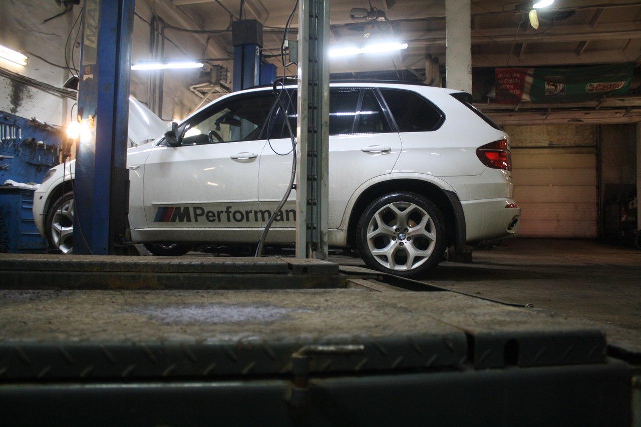 Развал схождение BMW