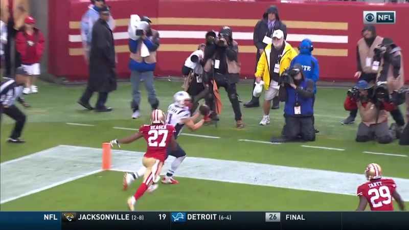 Dion Lewis Catch and Run Sets Up Edelman Toe Drag TD!
