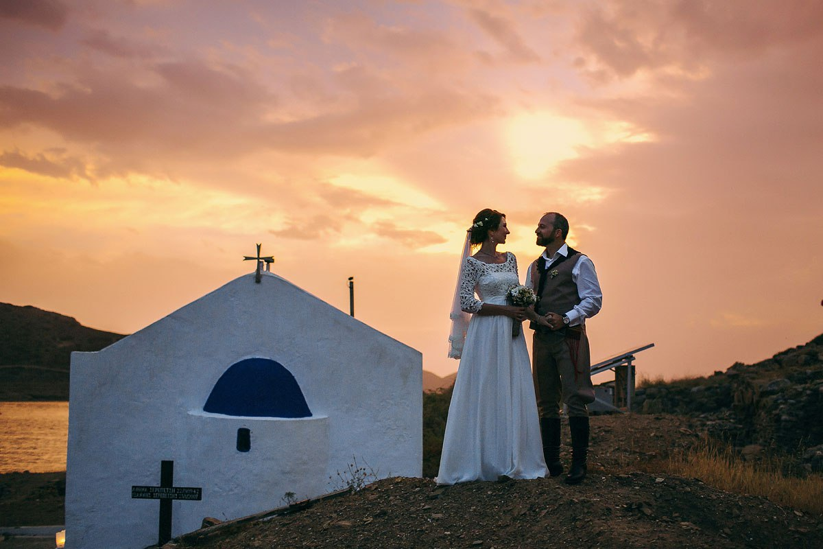 Свадьба на островах в Греции: Крите, Санторини, Закинфе и других. Видеосъемка в Европе за границей.
