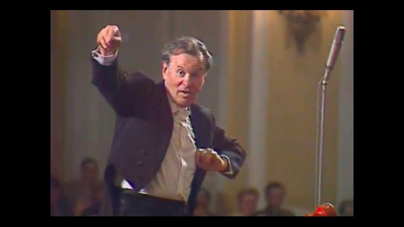 Evgeny Svetlanov conducts Dvorak Symphony no. 9 - video 1981