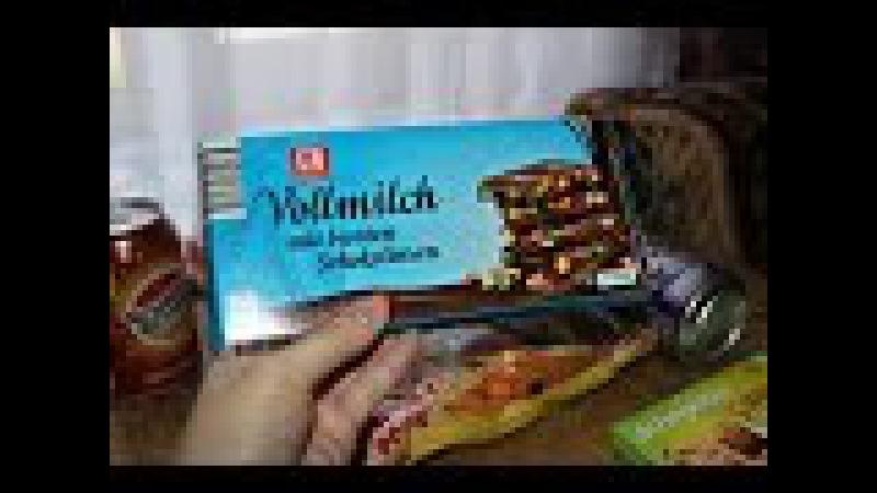 Европейские сладости - K-CLASSIC VOLLMILCH MIT BUNTEN SCHOKOLINSEN (молочный шоколад с MMS)