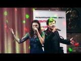 Славич и Юлия, Феликс Царикати, Сергей  Петросян в муз кафе Аист г  Москва