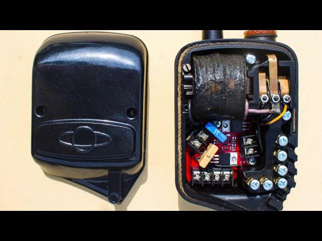 Работа электронного регулятора напряжения на ИЖ49