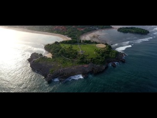 Остров Бали Индонезия и Таиланд с высоты птичьего полета на дрон DJI Phantom 4