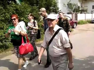 Народный сход против захвата пляжа в Лисьем Носу. Финский залив, Петербург. 24.07.16