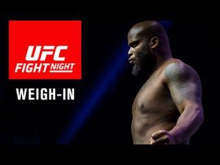 Официальное взвешивание перед UFC Fight Night 105: Льюис против Брауна