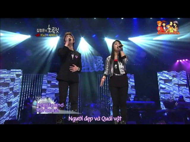[Vietsub] Luna ft. Onew - Beauty The Beast @ Kim Jung Eun's Chocolate