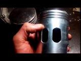 Лепестковый клапан на ИЖ Планету