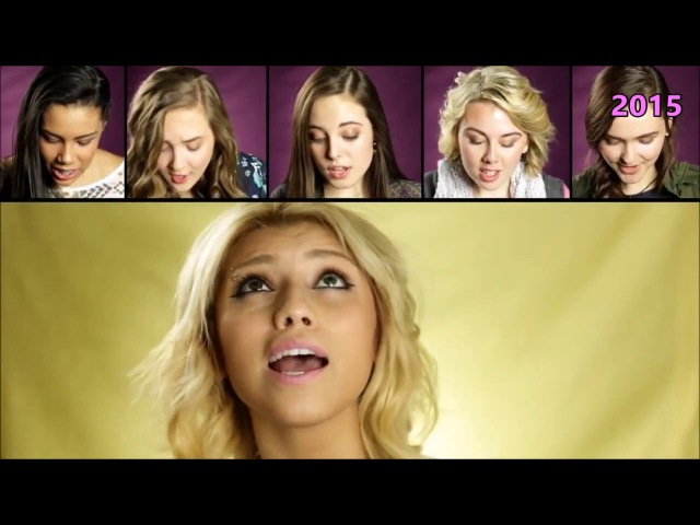 Evolution of Kirstin Maldonado Singing