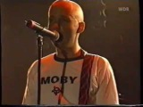 Moby Live at the Bizarre Festival, August 18 2000