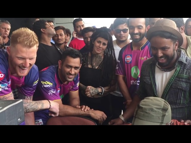 IPL 2017 JIO Dhana Dhan ad making, very funny dances by cricketers Must watch