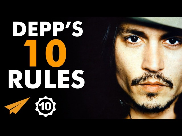 Johnny Depp's Top 10 Rules For Success