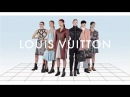 SIX GIRLS from the Louis Vuitton Fall-Winter 2017 Fashion Show by Nicolas Ghesquière