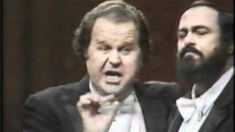 Luciano Pavarotti/Paul Plishka Duet Elixir of Love-Gaetano Donizetti