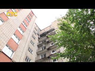 Запуск лифта в общежитии в Чижах