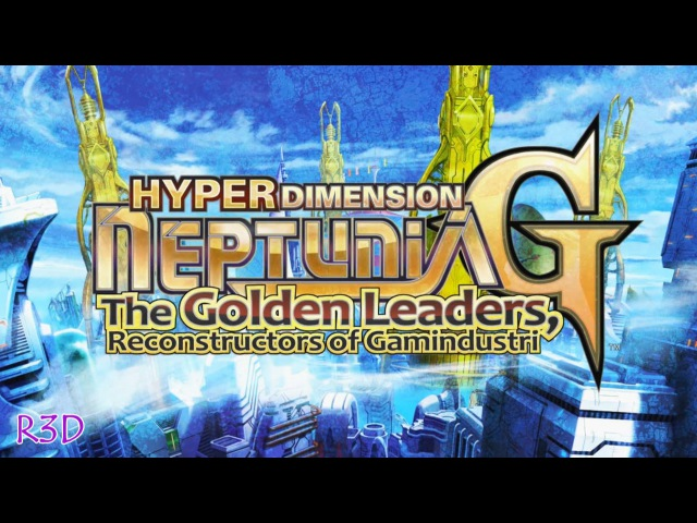 ♚Hyperdimension Neptunia G: The Golden Leaders, Reconstructors of Gamindustri♚ | Opening Cutscenes