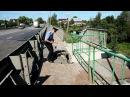 В Луховицах провалился тротуар на мосту через р Вобля