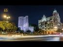 Baku the capital of Azerbaijan Time Lapse
