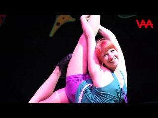 Super Elastic Girl Anaelle Molinario Contortion Akrobat