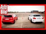 Video Mercedes-AMG A 45 vs BMW M2 - 751 PS im 14 Meile-Duell  Dragrace  Test  Quartermile