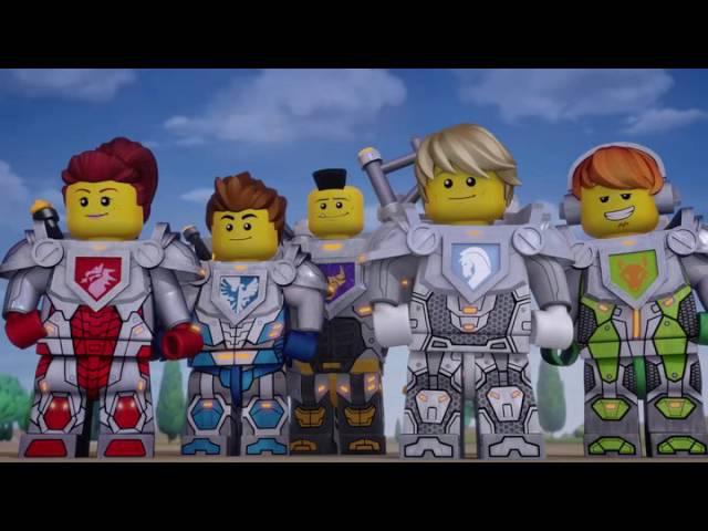 Lego: Рыцари Нексо / Сила Мерлока (Сезон 1, Серия 3) | Все мультфильмы