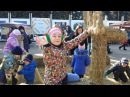 VLOG: Масляная на ВДНХ Свиные гонки Бесплатный Kinder Pingui /Ариана Голубец
